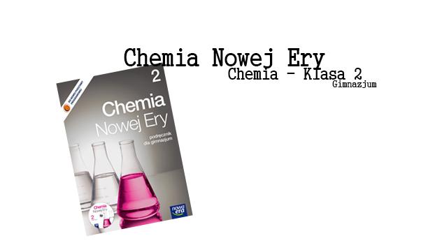 Chemia Nowej Ery 2 sprawdziany okładka