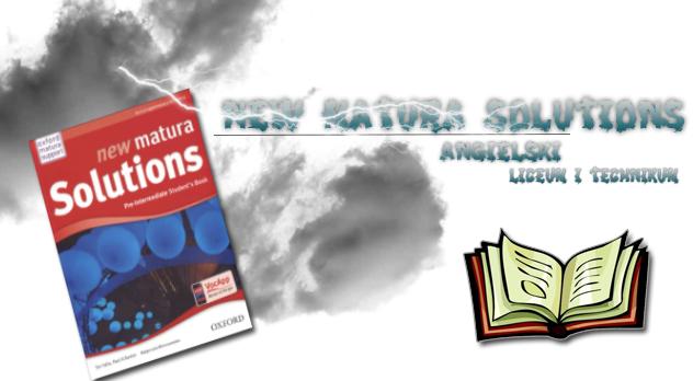 New Matura Solutions Sprawdziany okładka