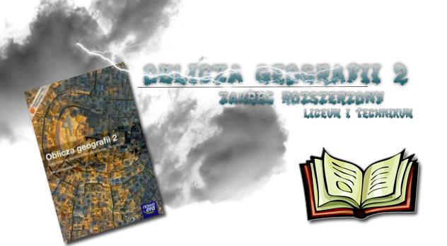 Oblicza geografii 2 Zakres rozszerzony sprawdziany okładka