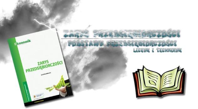 Zarys przedsiębiorczości sprawdziany okładka
