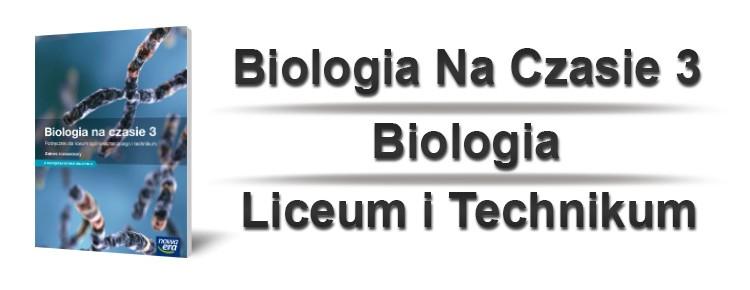 biologia na czasie 3 okładka