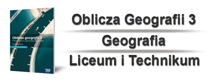 oblicza geografii 3 okładka