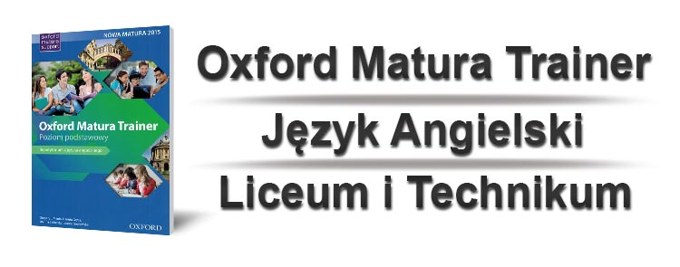 Oxford Matura Trainer sprawdziany okładka