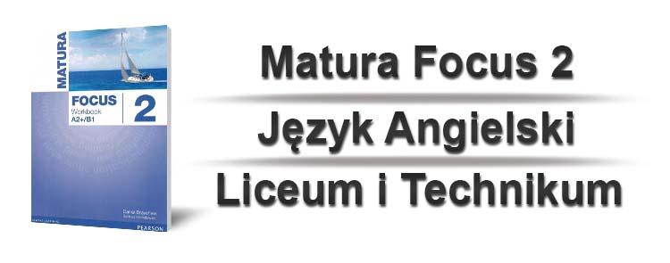 matura focus 2 sprawdziany okładka