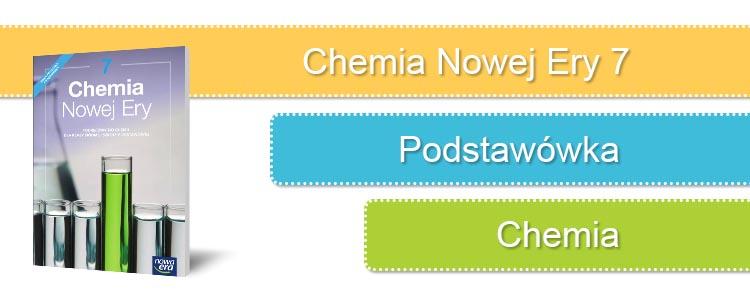 chemia nowej ery 7 sprawdziany okładka