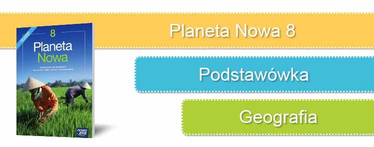 Planeta nowa 8 sprawdziany okładka